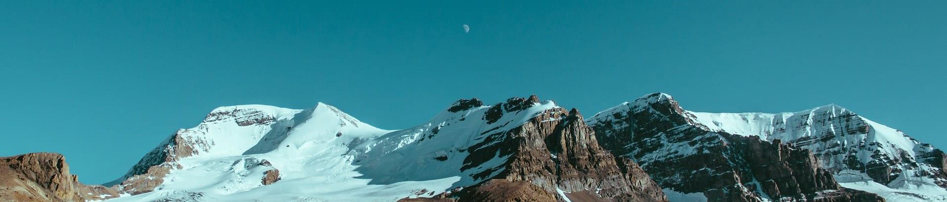 """Изображение с горами для страницы сайта """"Блог"""""""
