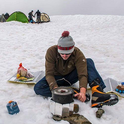 В статье точный перечень продуктов, которые мы готовим нашим участникам в горах