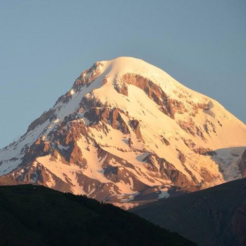Изображение для восхождения на Казбек с Грузии