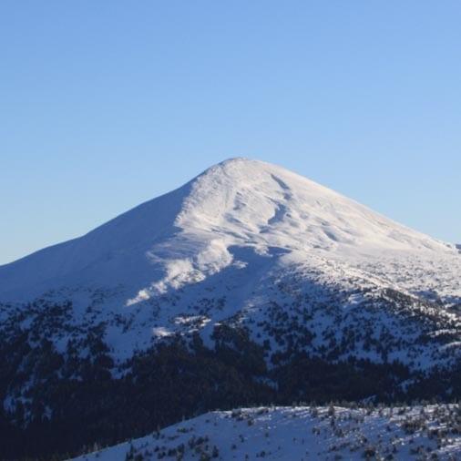 Изображение для восхождения на Говерлу и Петрос зимой