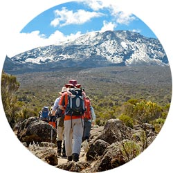 Самый необычный и наверное красивый маршрут для восхождения на высшую точку Африканского континента