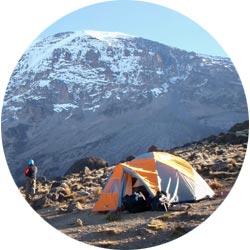 Один из самых длинных маршрутов для восхождения на Килиманджаро