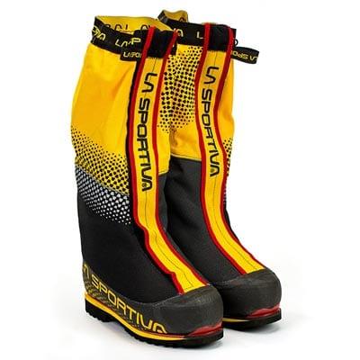 Двойные ботинки от La Sportiva для восхождений выше 8000 метров