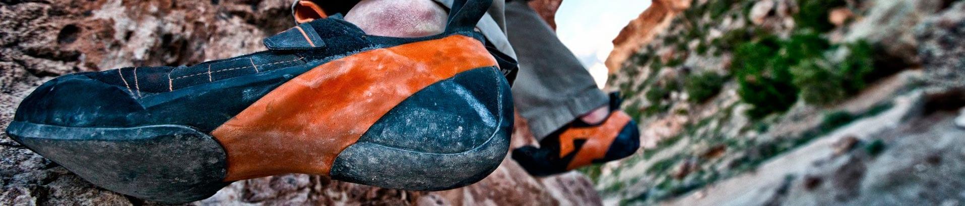 Мы познакомимся с различными скальными туфлями, которые нужно подбирать под свои задачи