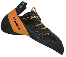 Агрессивные скалолазные туфли от известного итальянского бренда Scarpa