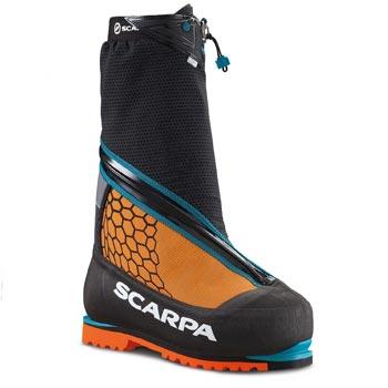 Двойные ботинки для совершения восхождений на восьмитысячники от компании Scarpa