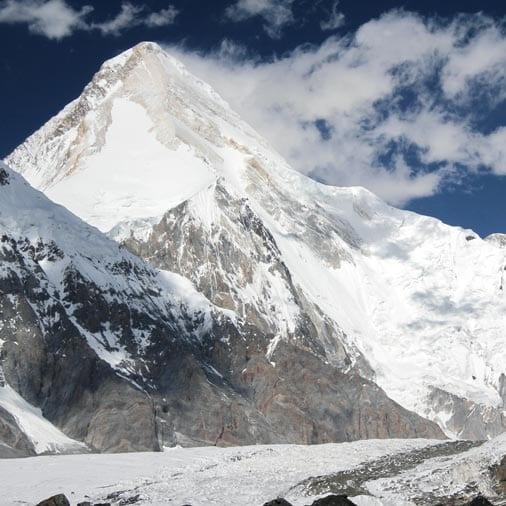 Изображение горы Хан-Тенгри на Тянь-Шане