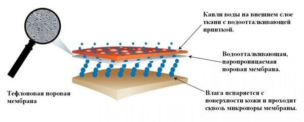 Современная мембранная ткань