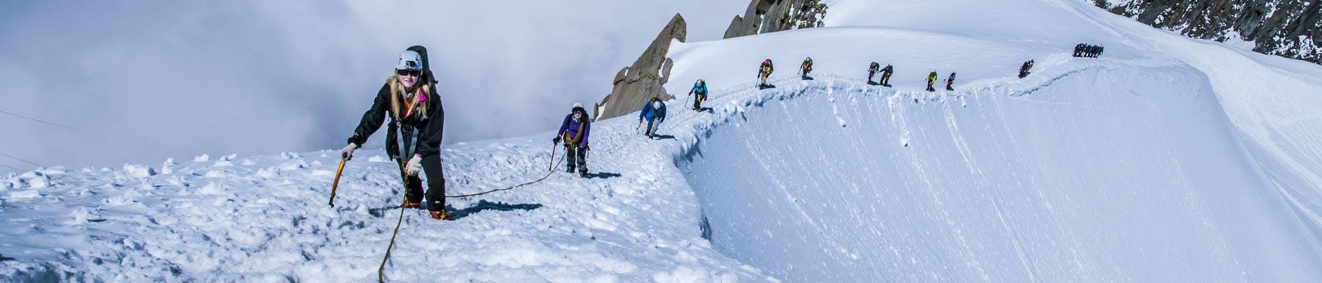 Статья про простейшие техники применяемые в альпинизме и при скалолазании