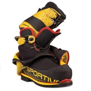 Внутренний ботинок модель Olympys Mons Evo от итальянцев из La Sportiva