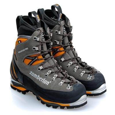 Ботинки от итальянской фирмы Zamberlan для занятий альпинизмом