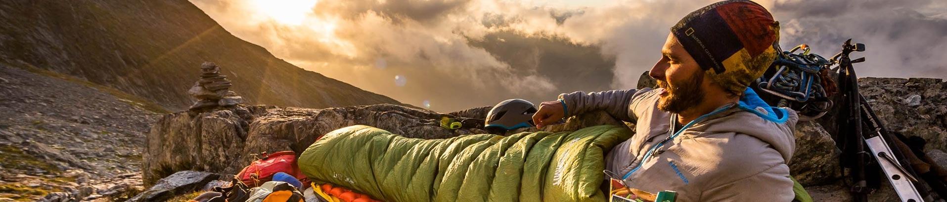Пух или синтетика, мы поможем выбрать правильный спальник для вашего похода в горы